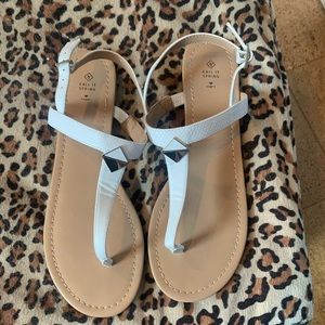*$5 add on* Call it spring sandals